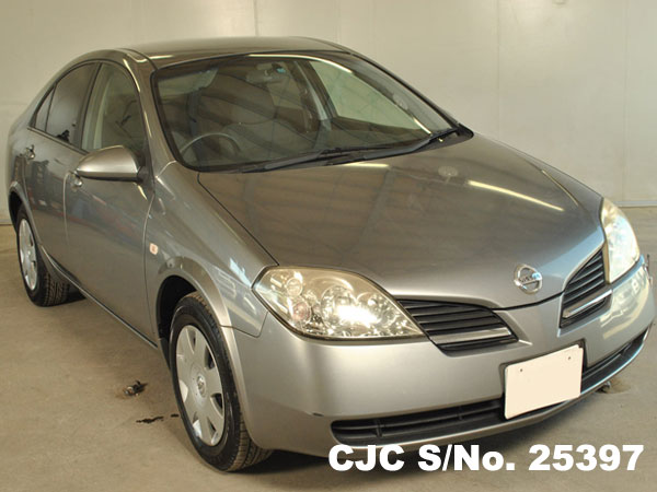 Import Nissan Primera 2002 Silver from Japan