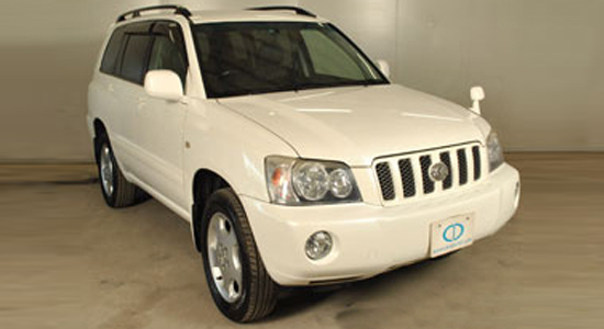 Toyota Kluger in Pearl for sale